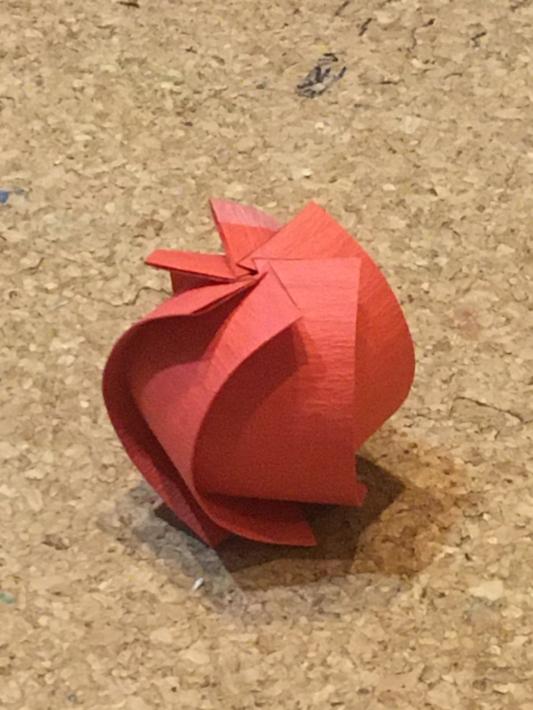 折紙で作ったオーナメント